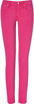 Ralph Lauren Blue Label Hibiscus Wray Wash Skinny Pants