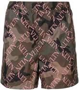 Valentino VLTN camouflage swim shorts