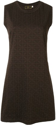 Fendi Pre Owned Zucca pattern dress