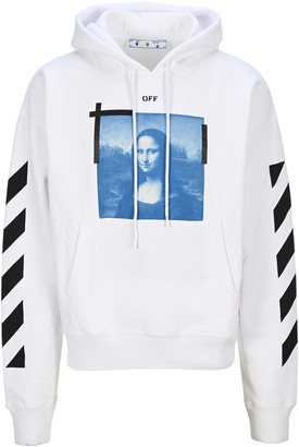 Off-White Off White Mona Lisa Graphic Print Hoodie