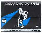 Undercover skeleton print wallet