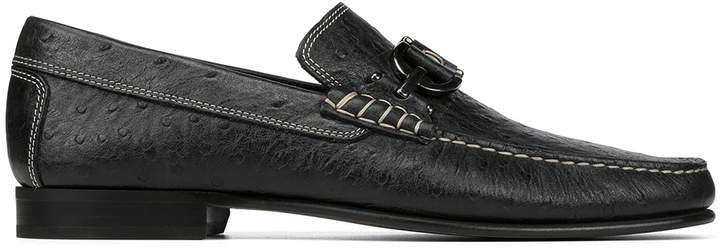 Donald J Pliner DACIO, Ostrich Embossed Leather Loafer