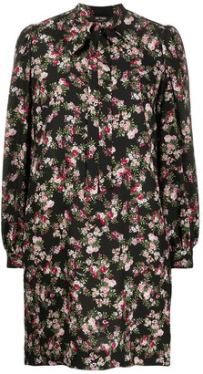 Twin-Set Floral Shift Dress