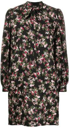 Twin-Set floral shift dress