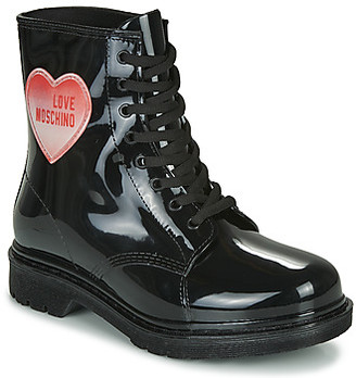 Love Moschino JA24073G1B women's Wellington Boots in Black