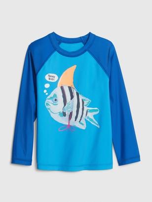 Gap Toddler Graphic Raglan T-Shirt