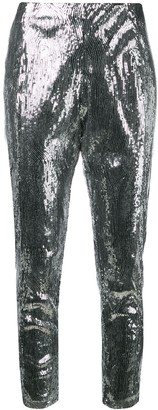 Laneus Sequin Embellished Trousers