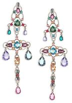Lanvin Crystal Chandelier Clip-On Earrings