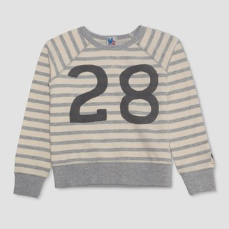 Junk Food Clothing Boy' Mickey Moue Lounge weathirt - White/Gray