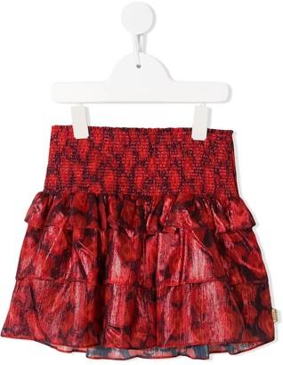 The Marc Jacobs Kids Printed Ruffles Skirt