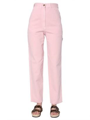 Alberta Ferretti Super High-Waisted Jeans