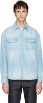 Visvim Blue Denim Social Sculpture Shirt