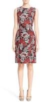 Oscar de la Renta Women's Lily Jacquard Sheath Dress