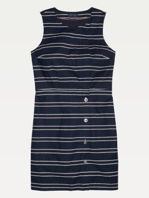 Tommy Hilfiger Adaptive Sleeveless Zip Closure Dress