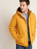 Old Navy Water-Resistant Hooded Puffer Jacket for Men