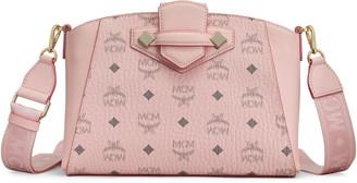 MCM Small Essential Visetos Coated Canvas Crossbody Bag