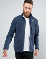 The North Face 100 Glacier Sweat Full Zip in Navy