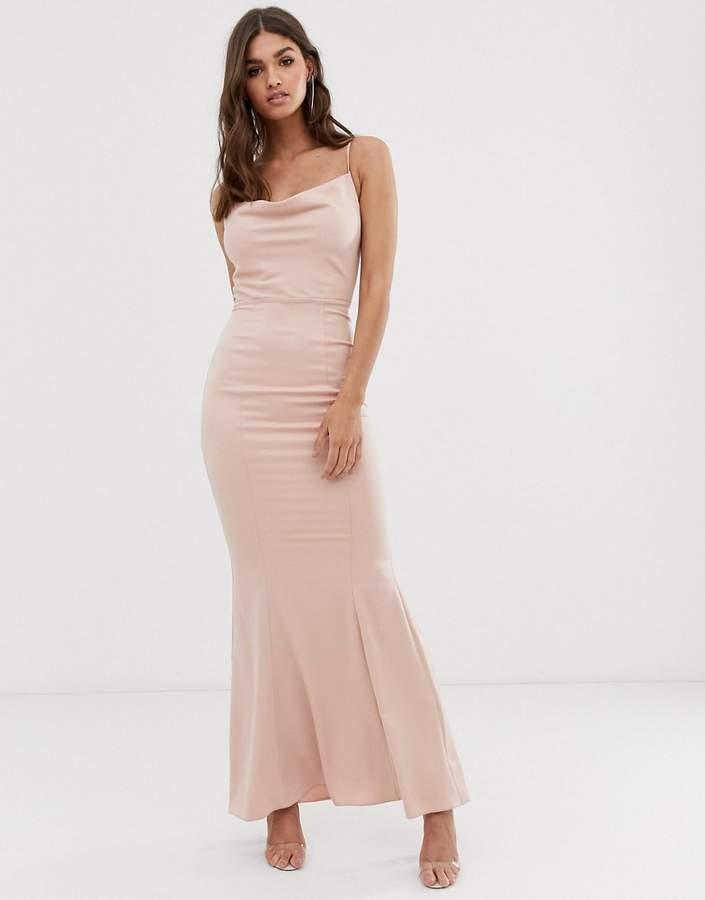 5bb2155cf9a9 Cowl Neck Maxi Dress - ShopStyle UK