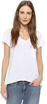Wilt Women's Short Sleeve Vintage V Neck T