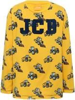 M&Co JCB Joey flocked t-shirt