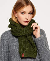 Superdry North Cable Scarf