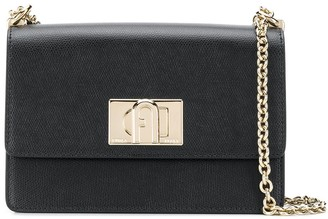 Furla Gold Hardware Shoulder Bag