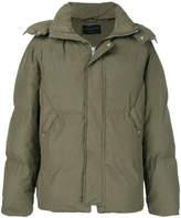 AllSaints padded hooded coat