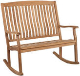 Asstd National Brand Teak Outdoor Double Rocker