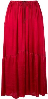 Forte Forte My Skirt drawstring-waist midi skirt