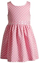 Youngland Toddler Girl Textured Polka-Dot Daisy Dress