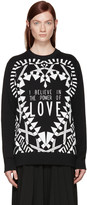 Givenchy - Pull noir 'Power of Love'