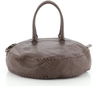 Bottega Veneta Bowling Bag Cervo with Intrecciato Detail Medium