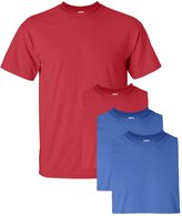 Gildan Men's Ultra Cotton Big and Tall T-Shirts (Pack of 4), 2XLT