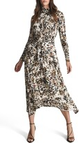 Thumbnail for your product : Reiss Bobby Floral Long Sleeve Dress