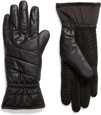URBAN RESEARCH Weatherproof Touchscreen-Compatible Gloves