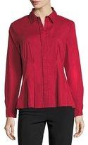 Go Silk Classic Cotton-Blend Shirt