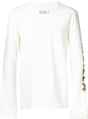 Maison Margiela round neck jumper