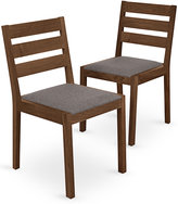 Marks and Spencer 2 Sonoma Dark Dining Chairs