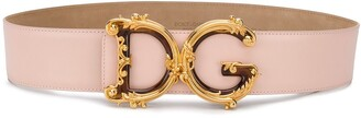 Dolce & Gabbana baroque buckle belt
