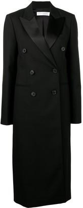 Victoria Beckham Double Breasted Midi Coat