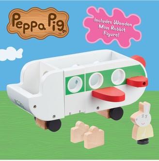 Peppa Pig Peppas Wood Play Aeroplane & Figure