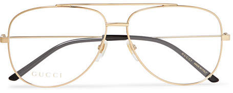 e0047ac925c8 Gucci Gold Eyewear For Men - ShopStyle Canada