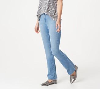 Isaac Mizrahi Live! Tall TRUE DENIM Flare Leg Jeans