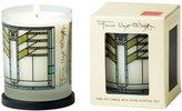 rareEarth rareEarth Frank Lloyd Wright Printed Glass Candle - Ennis House - 10 oz