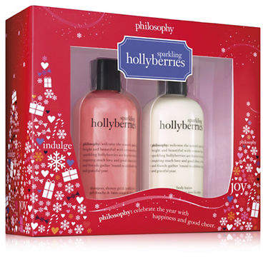 philosophy Sparkling Hollyberries Duo Set