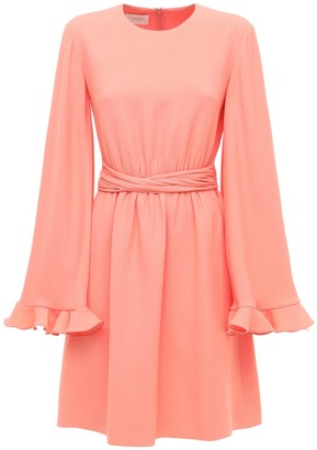 Giambattista Valli Viscose Sable Mini Dress