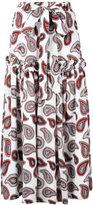 Dodo Bar Or paisley print maxi skirt