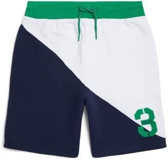 Polo Ralph Lauren Diagonal Colour-Block Shorts