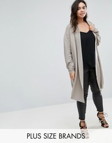 Elvi Cream Long Cardigan