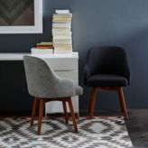 west elm Saddle Office Chairs